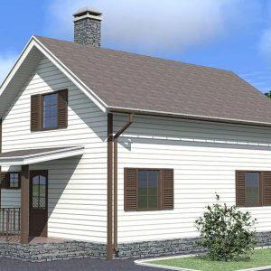 Каркасные дома от 80 до 100 кв.м