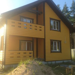 Каркасные дома свыше 200 кв.м