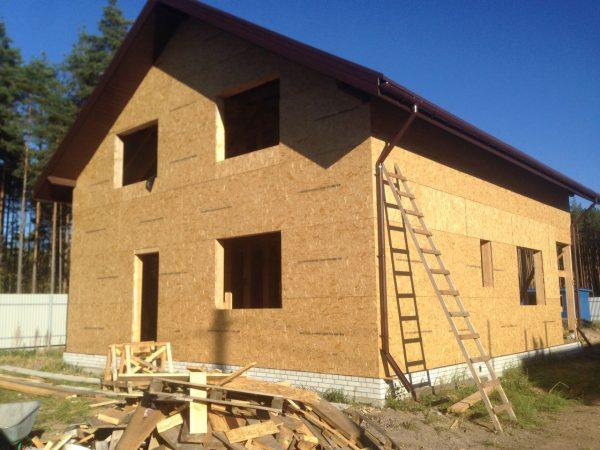 Каркасный дом 10x11 180кв.м