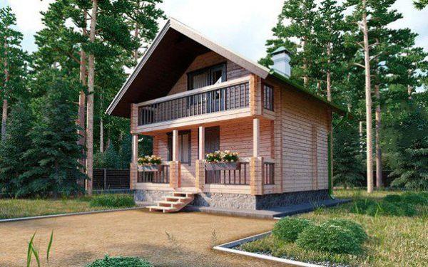 Каркасный дом 6x9 100кв.м