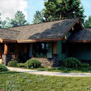 Каркасный дом 8x13 104кв.м