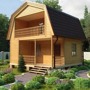 Каркасные дома до 80 кв.м