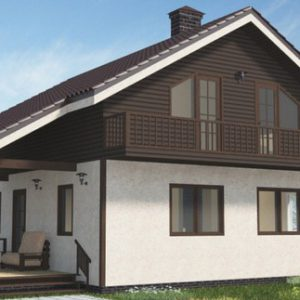 Каркасный дом 10х9