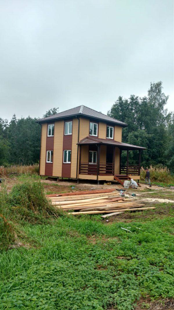 Ларионово хутор 1, дом 6х6