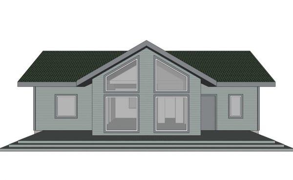 Каркасный дом 130м2