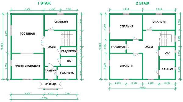 Дом 12х8