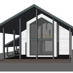 Дом 100м2+терасса 23м2