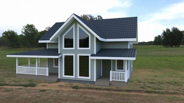 Дом 110м2+терасса 35м2