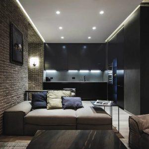 Интерьеры каркасных домов