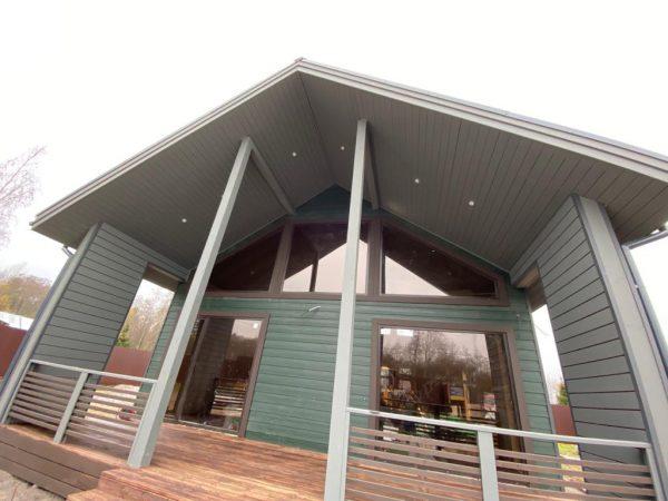 Продаётся новый зимний дом в п.Веснино Приозерский район